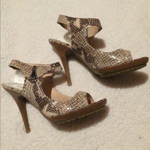 Michael Kors Belinda Leather Sandals